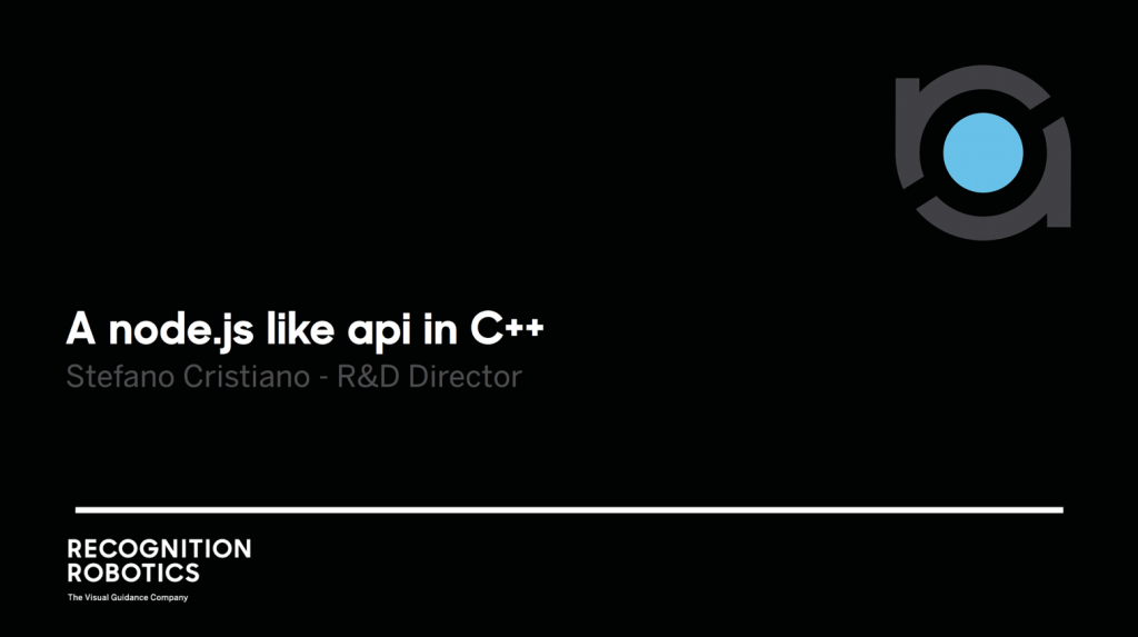 Node js-like API in C++ – Italian C++ Conference 2017 Talk